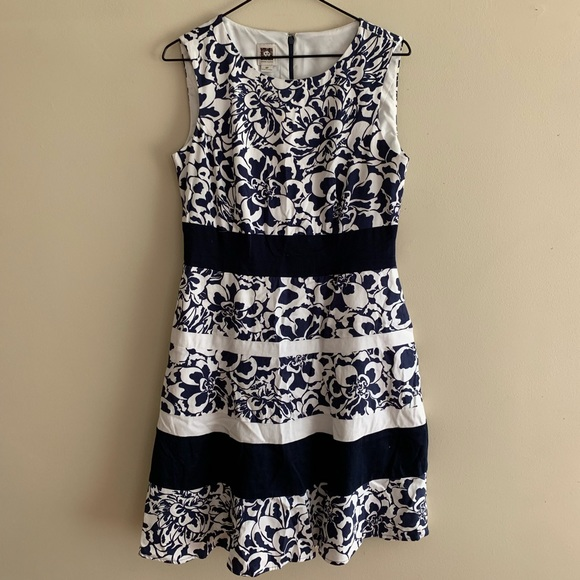 Anne Klein Dresses & Skirts - Beautiful Floral Summer Nights Dress
